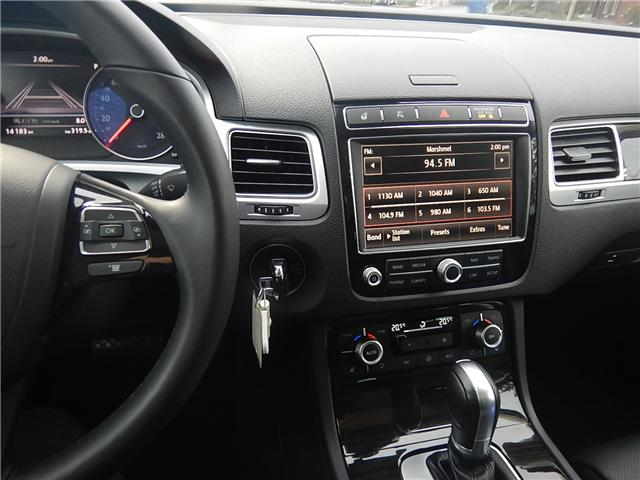 2017 Volkswagen Touareg 3.6L Execline (Stk: HU002353) in Surrey - Image 8 of 29