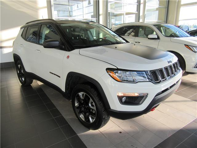 2017 Jeep Compass Trailhawk (Stk: A3635) in Saskatoon - Image 1 of 27