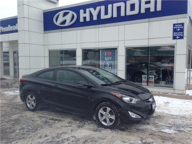 2014 Hyundai Elantra GLS (Stk: 18036-1) in Pembroke - Image 1 of 1