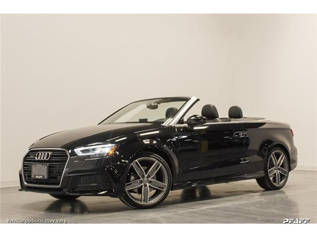 2018 Audi A3 2.0T Technik (Stk: T13047) in Vaughan - Image 1 of 8