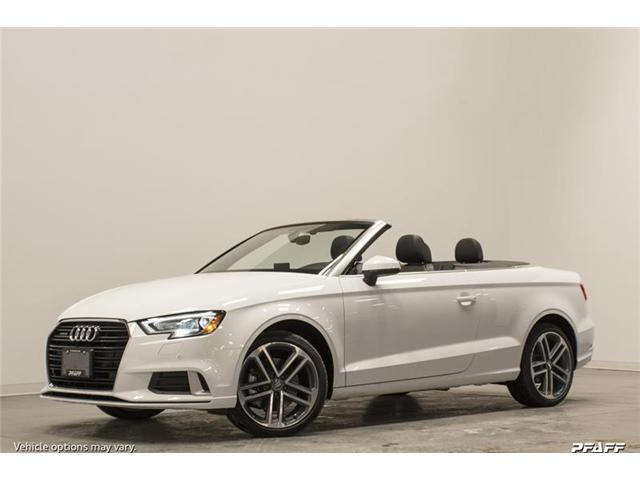 2018 Audi A3 2.0T Progressiv (Stk: T13104) in Vaughan - Image 1 of 8