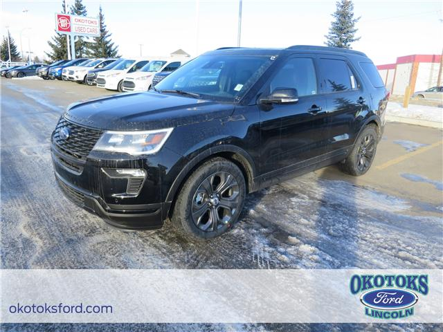 2018 Ford Explorer Sport (Stk: J-243) in Okotoks - Image 1 of 5