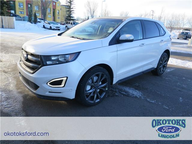 2018 Ford Edge Sport (Stk: J-128) in Okotoks - Image 1 of 6