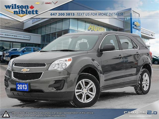 2013 Chevrolet Equinox LS (Stk: U322164) in Richmond Hill - Image 1 of 30
