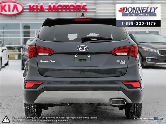 2017 Hyundai Santa Fe Sport  (Stk: CLKUR2068) in Kanata - Image 5 of 29