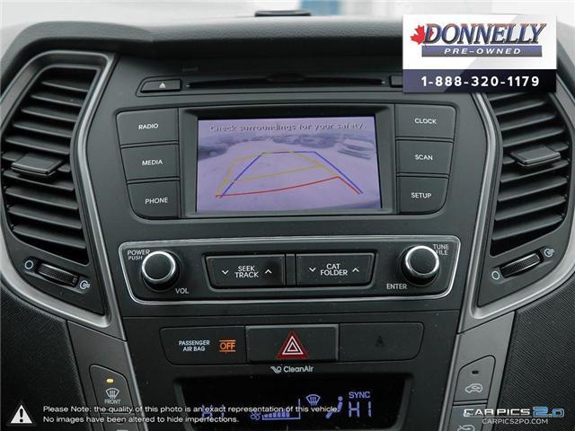 2017 Hyundai Santa Fe Sport  (Stk: CLKUR2068) in Kanata - Image 21 of 29