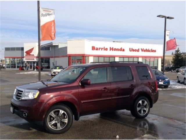 2015 Honda Pilot SE (Stk: U15027) in Barrie - Image 1 of 10