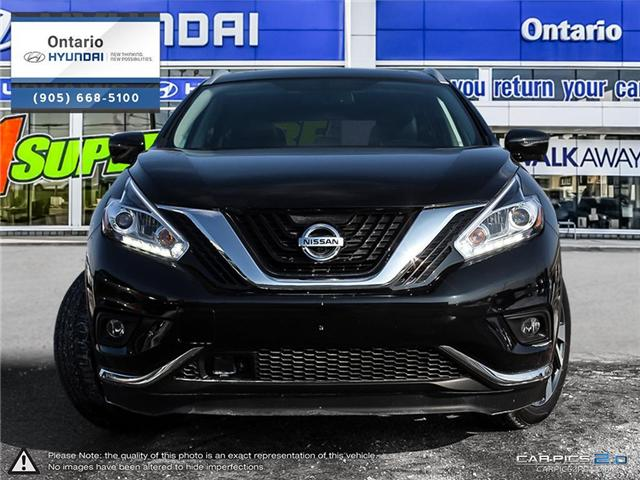 2017 Nissan Murano Platinum (Stk: 57208K) in Whitby - Image 2 of 27
