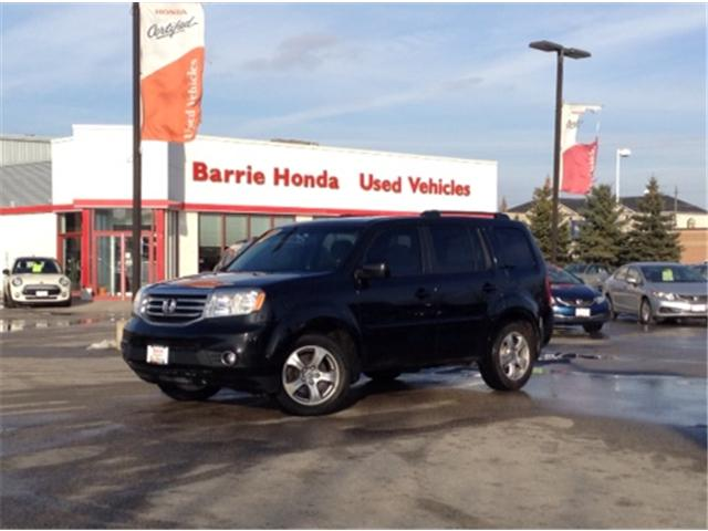 2014 Honda Pilot EX (Stk: U14808) in Barrie - Image 1 of 21