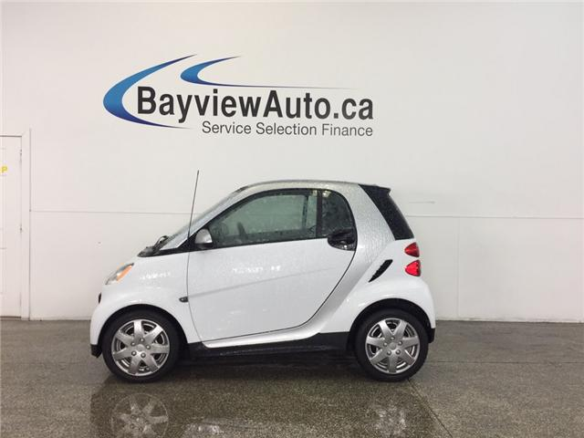 2013 Smart Fortwo PASSION- KEYLESS ENTRY|AUTO|A/C|BLUETOOTH|LOW KM! (Stk: 31796) in Belleville - Image 1 of 18