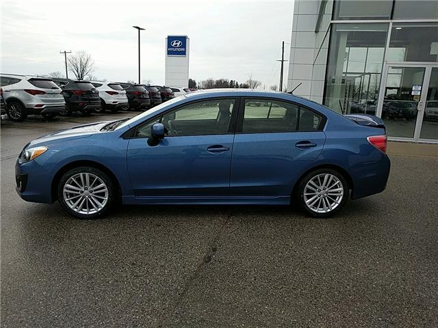 2014 Subaru Impreza 2.0i Sport Package (Stk: 80092A) in Goderich - Image 2 of 18
