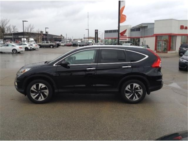 2015 Honda CR-V Touring (Stk: U15946) in Barrie - Image 2 of 5