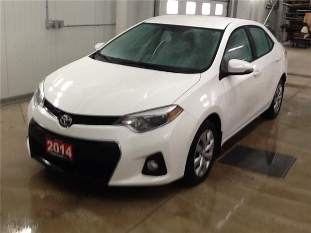 2014 Toyota Corolla S (Stk: P17114) in Owen Sound - Image 1 of 12