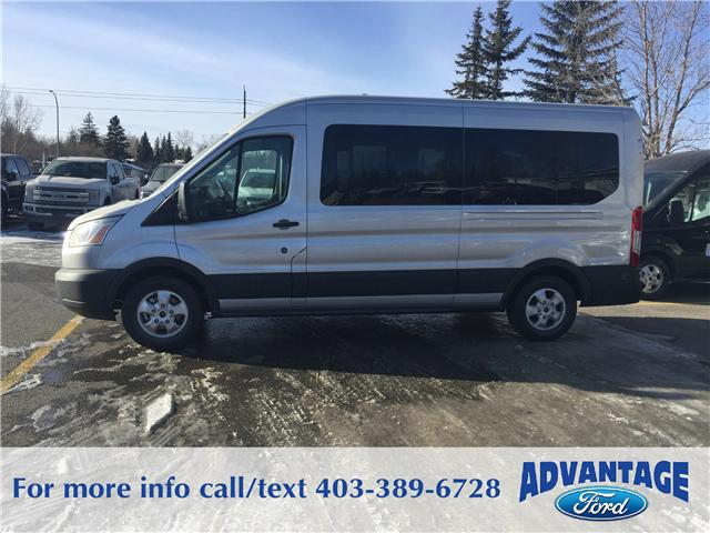 2018 Ford Transit-350 XLT (Stk: J-173) in Calgary - Image 2 of 6