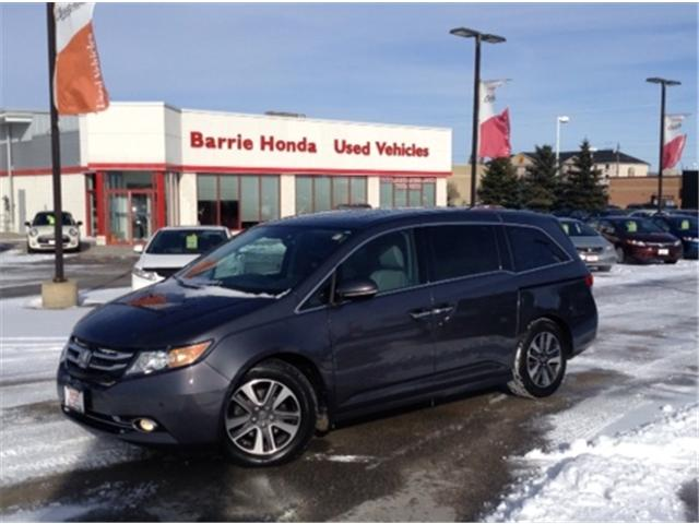 2014 Honda Odyssey Touring (Stk: U14848) in Barrie - Image 1 of 18