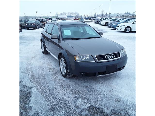 2005 Audi Allroad 2.7T (Stk: P187-3) in Brandon - Image 2 of 10