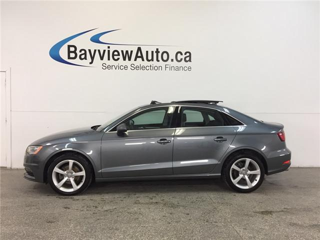 2015 Audi A3 KOMFORT- TDI|SUNROOF|HTD LTHR|BLUETOOTH|CRUISE! (Stk: 31971) in Belleville - Image 1 of 24