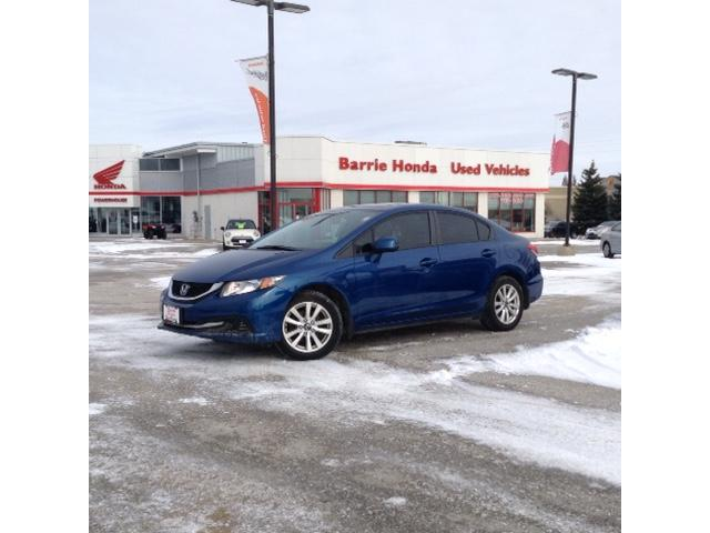 2013 Honda Civic EX (Stk: U13262) in Barrie - Image 1 of 16