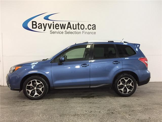 2015 Subaru Forester XT- AWD|SUNROOF|HTD STS|REV CAM|BLUETOOTH|CRUISE! (Stk: 32016) in Belleville - Image 1 of 28
