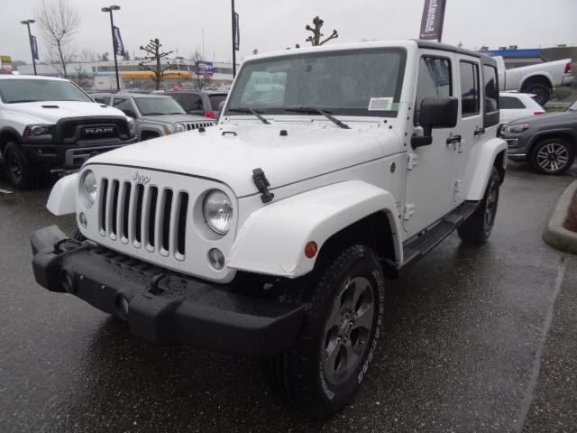 2018 Jeep Wrangler JK Unlimited Sahara (Stk: J820501) in Surrey - Image 2 of 14