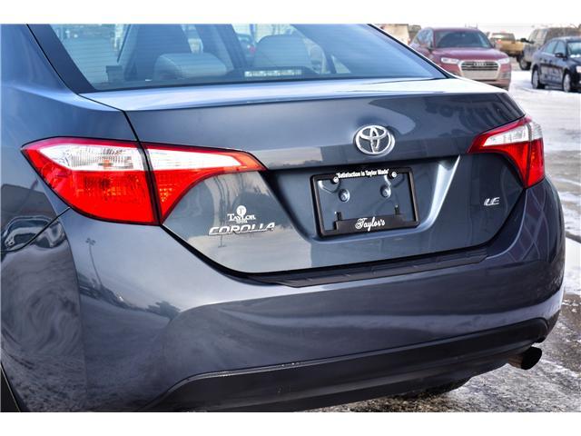 2016 Toyota Corolla LE (Stk: F6325) in Regina - Image 10 of 33