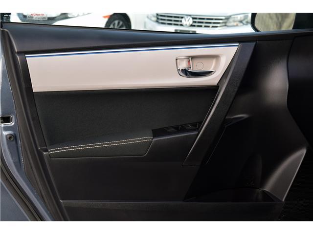 2016 Toyota Corolla LE (Stk: F6325) in Regina - Image 13 of 33