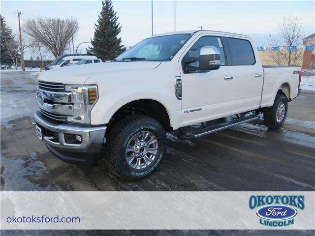 2018 Ford F-350 Lariat (Stk: J-572) in Okotoks - Image 1 of 5