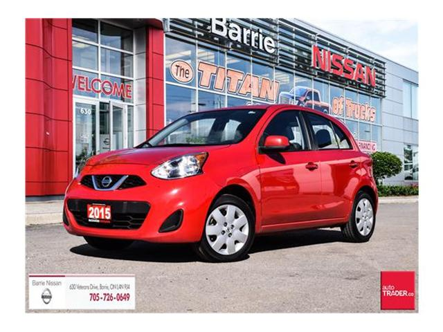 2015 Nissan Micra SV (Stk: 17764A) in Barrie - Image 1 of 19