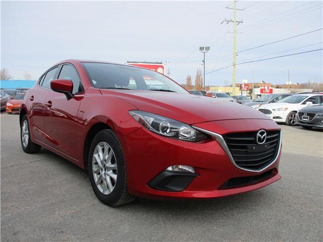2015 Mazda Mazda3 GS (Stk: 180039) in Kingston - Image 1 of 11