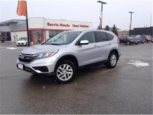 2015 Honda CR-V SE (Stk: U15101) in Barrie - Image 1 of 14