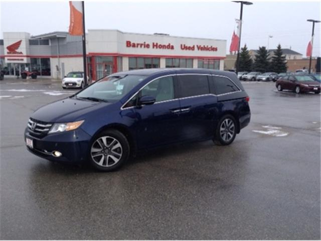 2016 Honda Odyssey Touring (Stk: U16256) in Barrie - Image 1 of 16