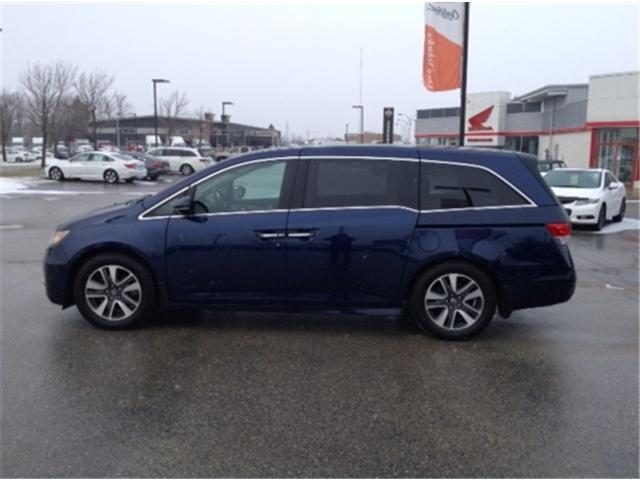 2016 Honda Odyssey Touring (Stk: U16256) in Barrie - Image 2 of 16