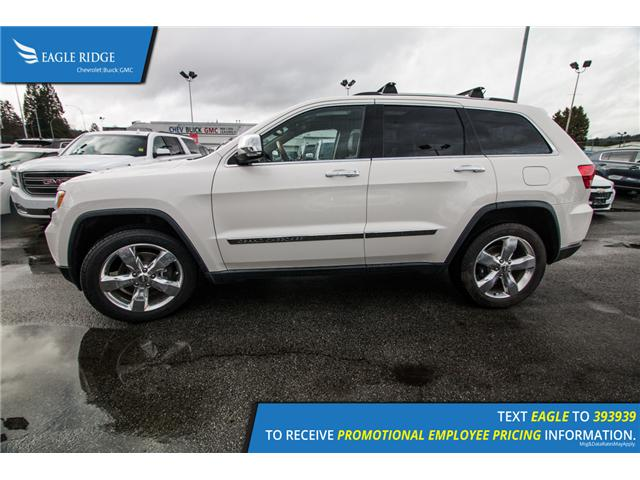 2012 Jeep Grand Cherokee Overland (Stk: 128031) in Coquitlam - Image 2 of 17