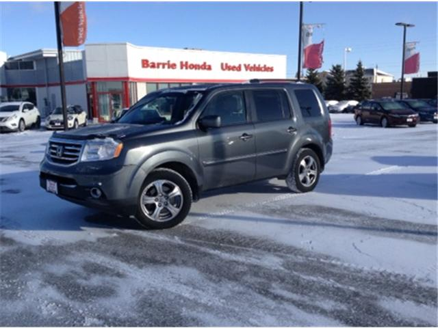 2013 Honda Pilot EX-L (Stk: U13299) in Barrie - Image 1 of 15