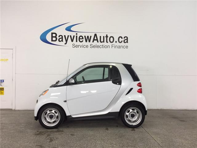 2013 Smart Fortwo - AUTO|A/C|BLUETOOTH|UNDER 23,500 KM! (Stk: 31862J) in Belleville - Image 1 of 20