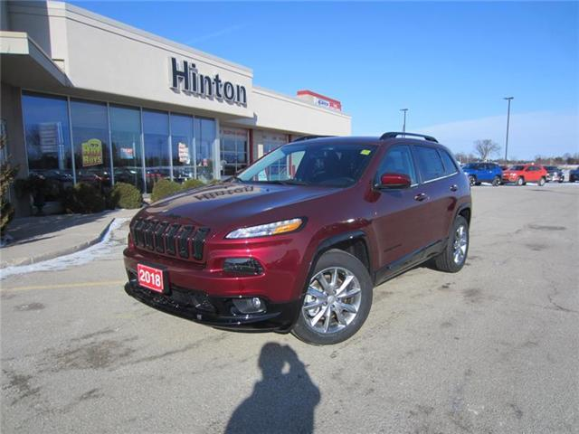 2018 Jeep Cherokee North (Stk: 18082) in Perth - Image 1 of 11