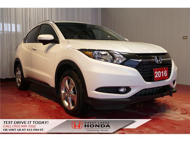 2016 Honda HR-V EX-L (Stk: HP464) in Sault Ste. Marie - Image 1 of 24