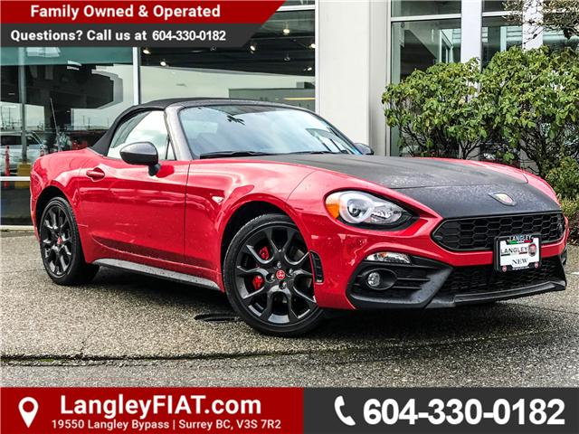 2017 Fiat 124 Spider Abarth (Stk: H126207) in Surrey - Image 1 of 29
