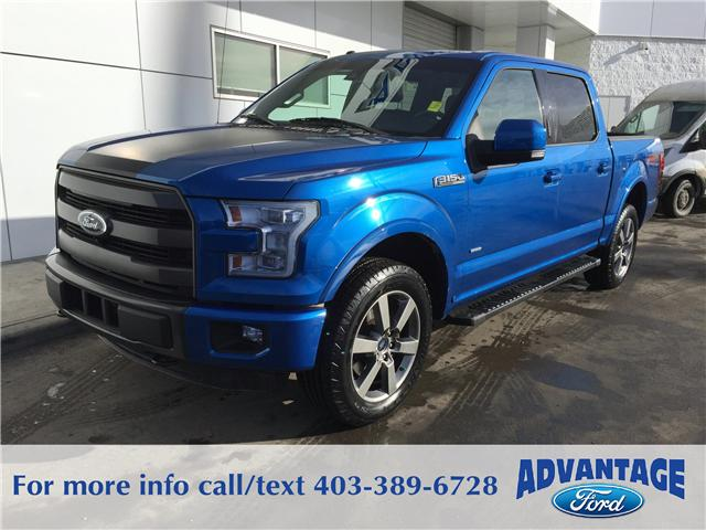 2015 Ford F-150 Lariat (Stk: J-570A) in Calgary - Image 1 of 10