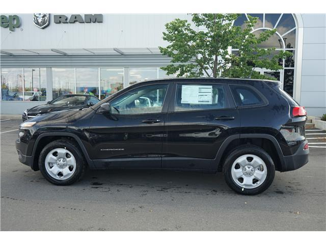 2018 Jeep Cherokee Sport (Stk: 181286) in Thunder Bay - Image 2 of 14