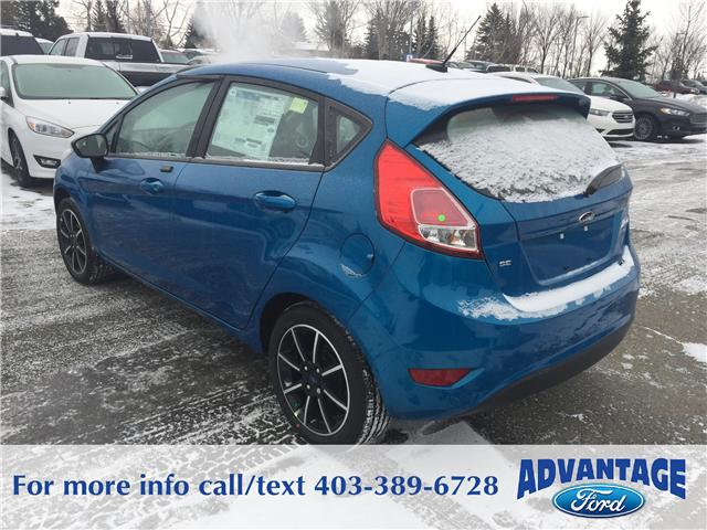 2017 Ford Fiesta SE (Stk: H-1945) in Calgary - Image 3 of 5