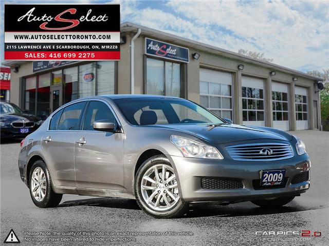 2009 Infiniti G37x AWD (Stk: 9NFT191) in Scarborough - Image 1 of 26