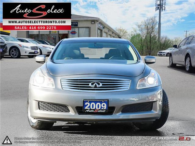 2009 Infiniti G37x AWD (Stk: 9NFT191) in Scarborough - Image 2 of 26