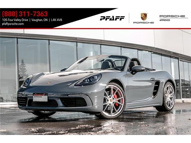 2017 Porsche 718 Boxster S PDK (Stk: U6744) in Vaughan - Image 1 of 14