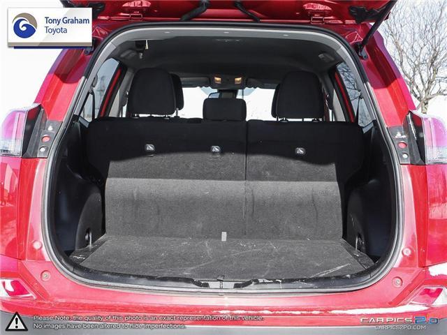 2017 Toyota RAV4 LE (Stk: U8863) in Ottawa - Image 19 of 28