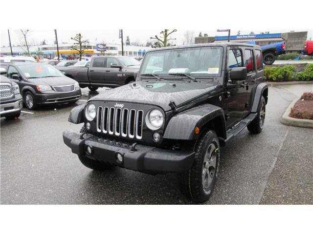 2018 Jeep Wrangler JK Unlimited Sahara (Stk: J885362) in Surrey - Image 2 of 13