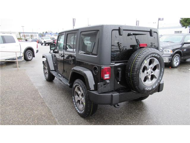 2018 Jeep Wrangler JK Unlimited Sahara (Stk: J885362) in Surrey - Image 3 of 13