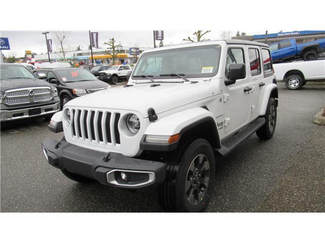 2018 Jeep Wrangler Unlimited Sahara (Stk: J104739) in Surrey - Image 2 of 14