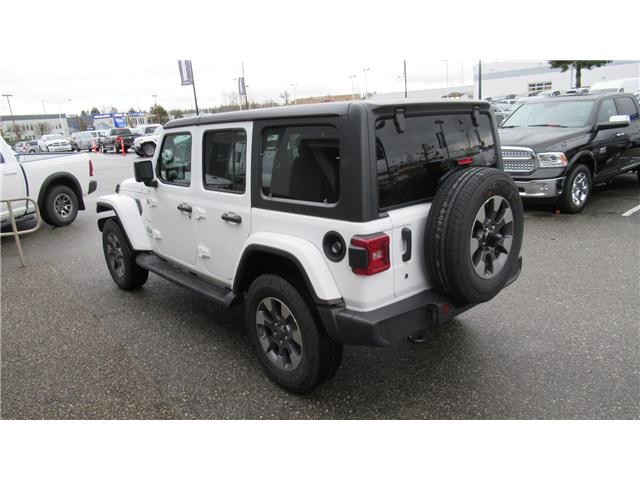 2018 Jeep Wrangler Unlimited Sahara (Stk: J104739) in Surrey - Image 3 of 14