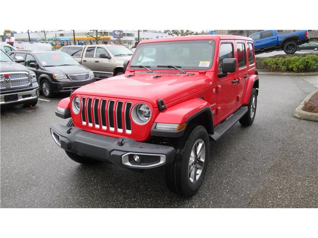 2018 Jeep Wrangler Unlimited Sahara (Stk: J104698) in Surrey - Image 2 of 14
